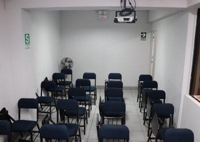 Sala 3, proyector multimedia