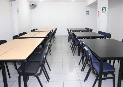 Sala 4, mesa de trabajo